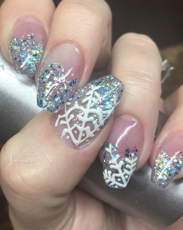 Day 338 Snowflake Nail Art Nails Magazine