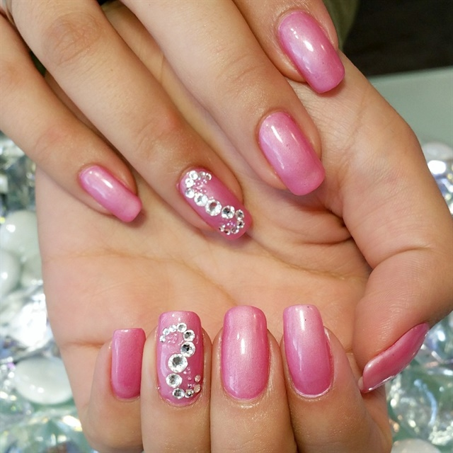 Day 41 pretty pink nail art nails magazine prinsesfo Image collections