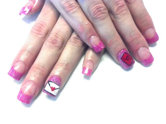 day 42 love letter nail art nails magazine