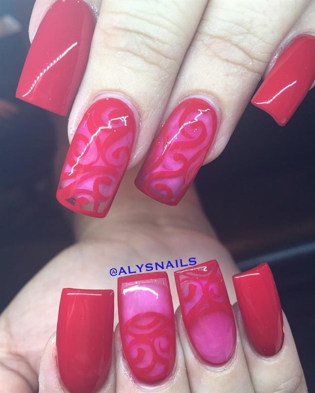 Day 45 Valentine S Day Nail Art Nails Magazine