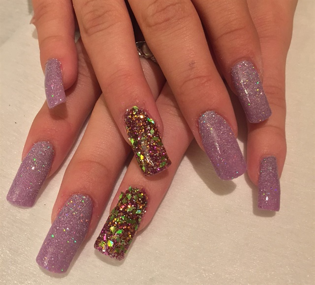 Day 59: Mardi Gras Nail Art - - NAILS Magazine