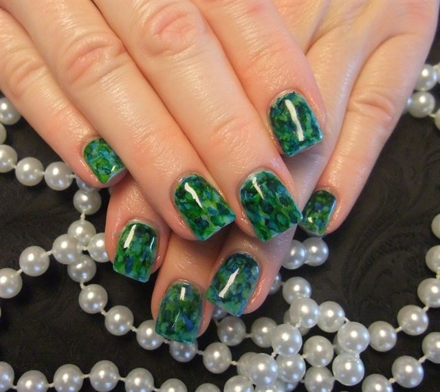 Day 61: Jade Nail Art - - NAILS Magazine