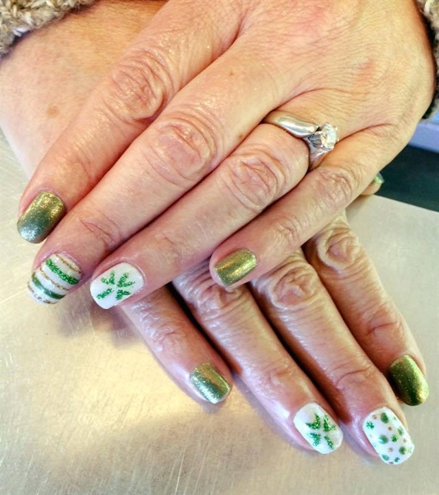 Day 76 st patricks day nail art nails magazine maddie williams village hair and spa sioux falls sd prinsesfo Image collections