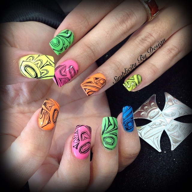 Day 98: Jewelry Stamped Nail Art - - NAILS Magazine