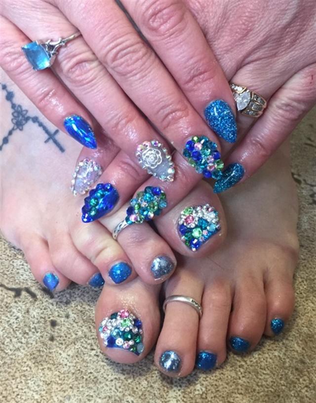 Day 12 Head To Toe Nail Art Nails Magazine