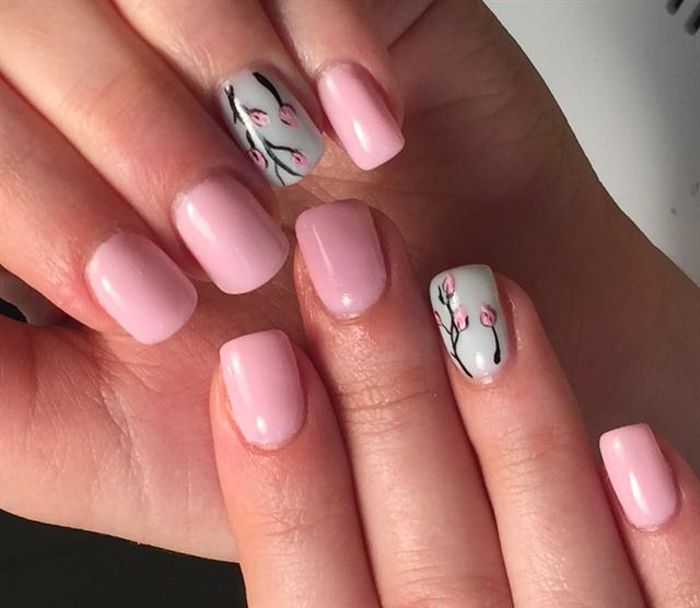Day 13 Pink Black And Silver Nail Art Nails Magazine