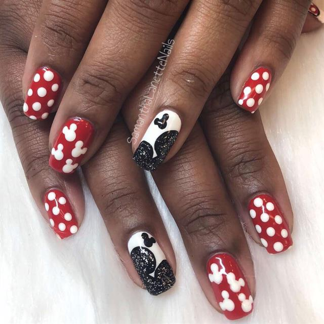 - Day 132: Disney And Jewels Nail Art - - NAILS Magazine