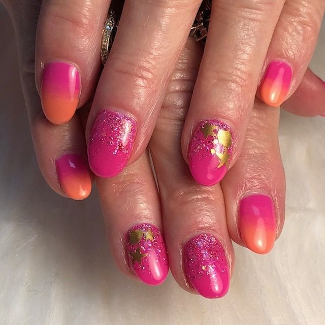 Day 170 Summer Ombre Nail Art Nails Magazine