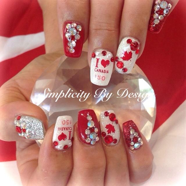 Day 182 Happy Canada Day Nail Art Nails Magazine