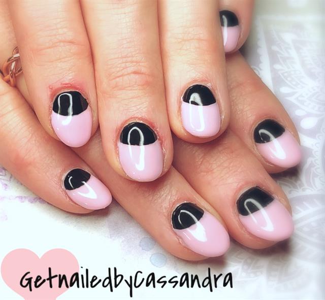 Day 27 Half Moon Full Circle Nail Art Nails Magazine