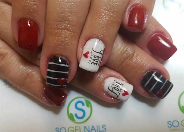 Latahna Fulton, Style Up Salon, Camp Verde, Ariz. - Day 37: Love Stripes Nail Art - - NAILS Magazine