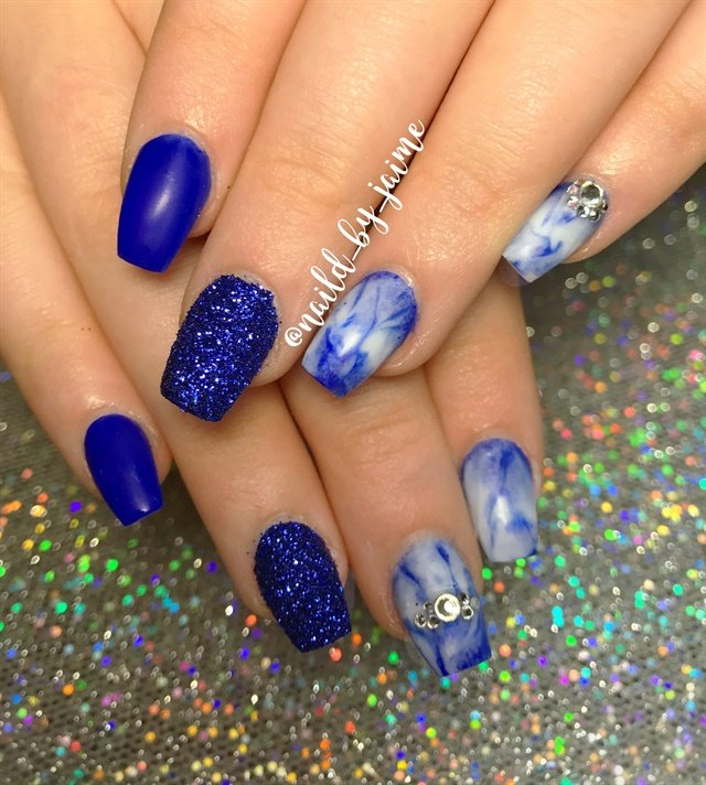 Day 5: Ombre & Bling Nail Art - - NAILS Magazine