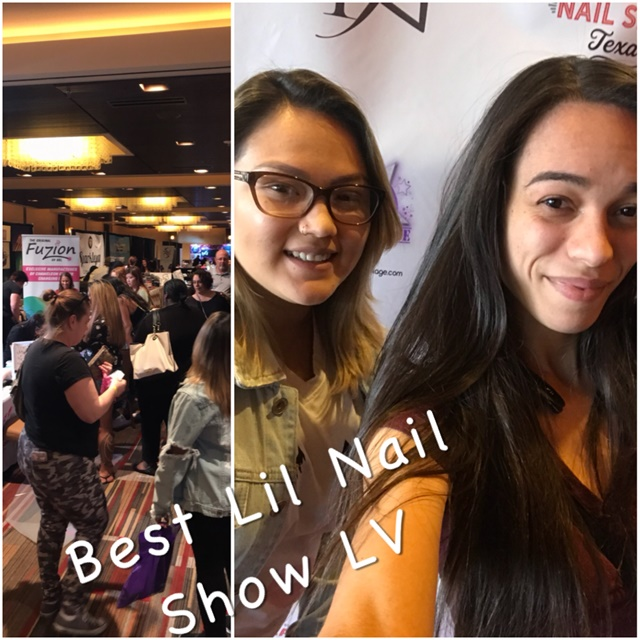 Our school took us on a field trip to the Best Lil' Nail Show Las Vegas.