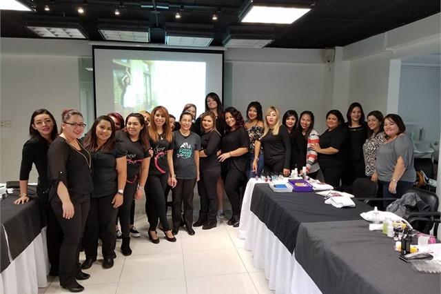 <p>The team in El Salvador.</p>