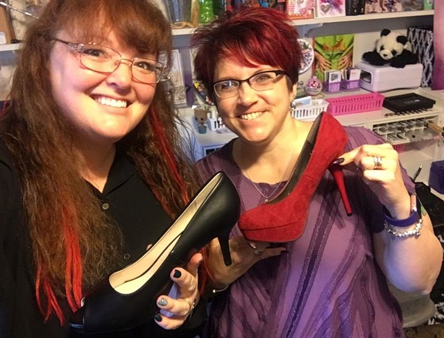 In March Holly and #BFFMel discussed feet and shoes. For the April broadcast, they'll be tackling reflexology.