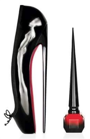 Did you catch the fun fact in the broadcast about Louboutin shoes?
