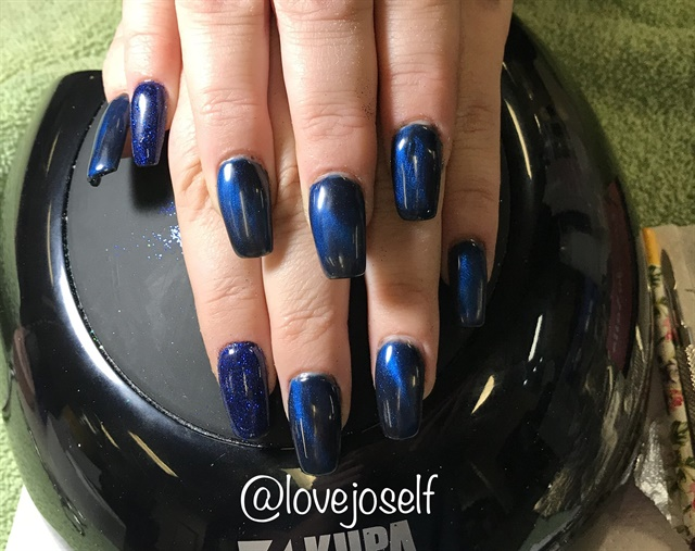 <p>Here, I used magnetic polish by IBD.</p>