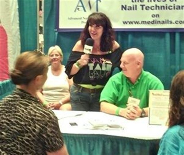 Athena Elliott conducted Nail Talk Radio interviews with educators, owners, and nail techs at the 2012 Nail Tech Event of the Smokies.