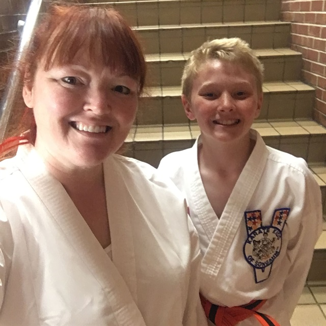 Taking Taekwondo with my son has been an amazing experience in so many different ways.