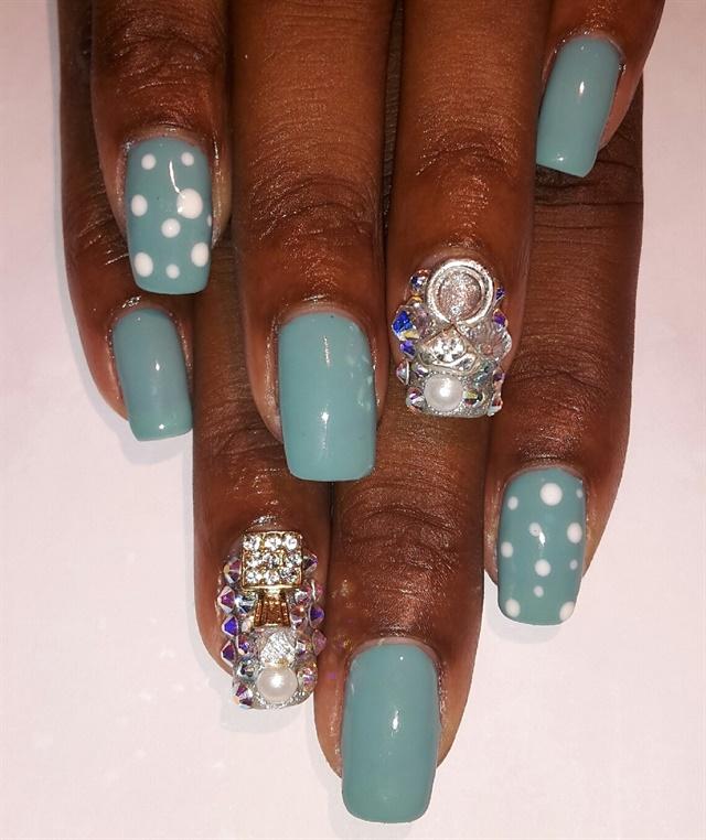 Day 173 3 D Texture Nail Art Nails Magazine