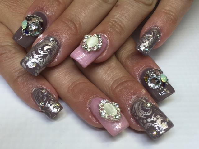 Day 175 Big Bling Nail Art Nails Magazine