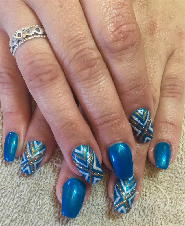 Day 232 Crisscross Nail Art Nails Magazine