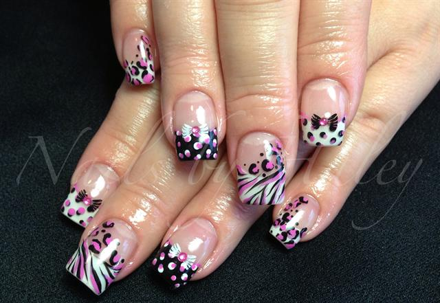 Day 264 spots stripes nail art nails magazine haley van diest fetish nails williams lake british columbia canada prinsesfo Image collections