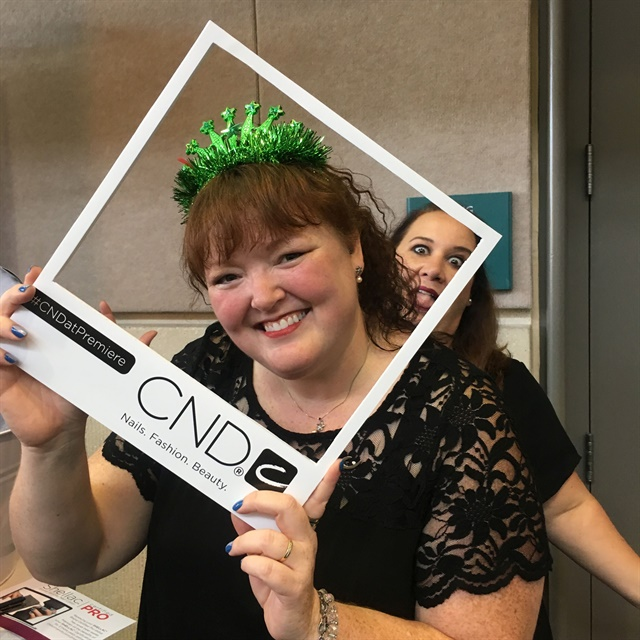 <p>Even if you don't come to a CND class, at least come have fun with me at the smile booth after class!</p>