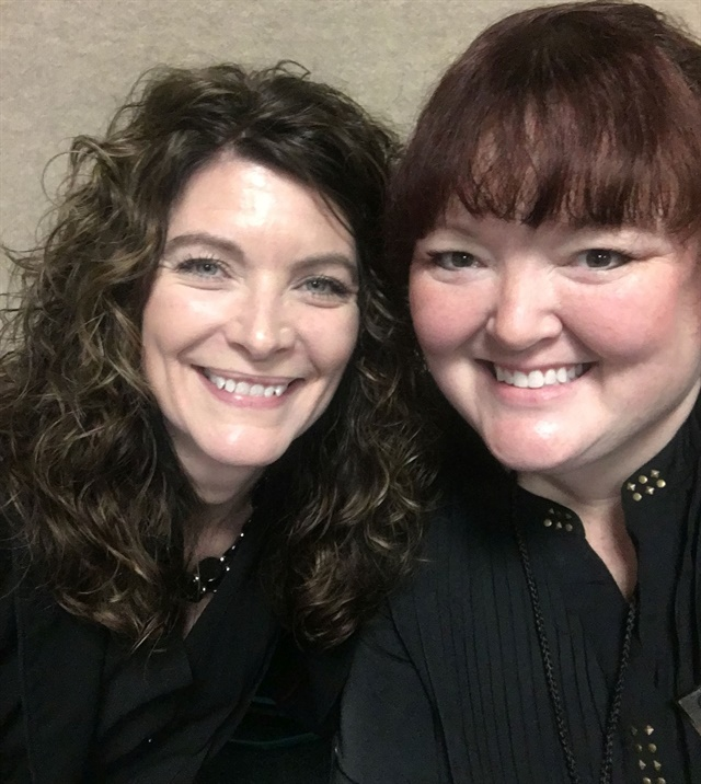 <p>I'm so lucky to co-facilitate my first CND stage class in Orlando with one of my mentors, Kristina Saindon.</p>