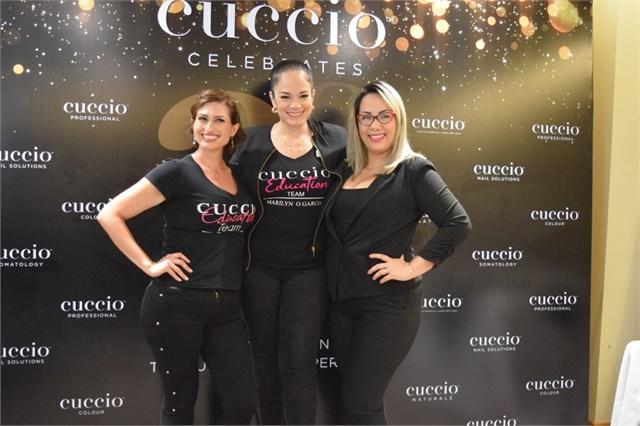 <p>Sarella Angel, Marilyn Garcia, and Kathiuska Camarena</p>