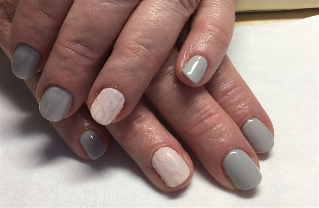 <p>I've been getting requests for sweater nails. - Winter Nail Art Colors Are Transitioning - - NAILS Magazine