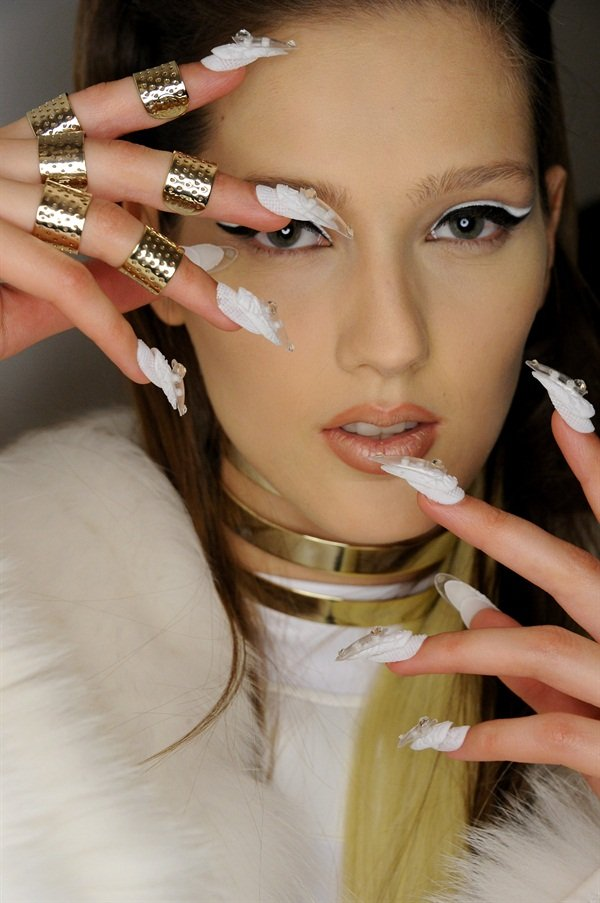 NYFW F/W 2015: CND for the Blonds - - NAILS Magazine