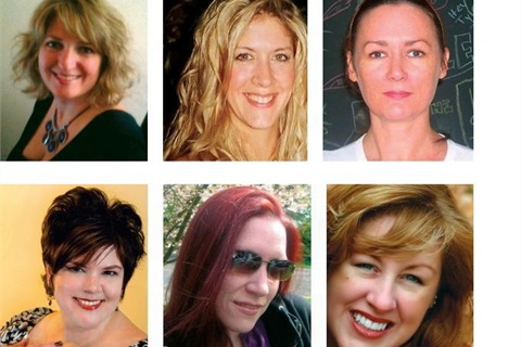 <p>Top L to R: Lisa Sivak, Linda Tabella, Stacey Witherspoon. Bottom L to R: Michelle Yianakopolos, Dana Gonzalez-Kurtz, Becky Knauss</p>