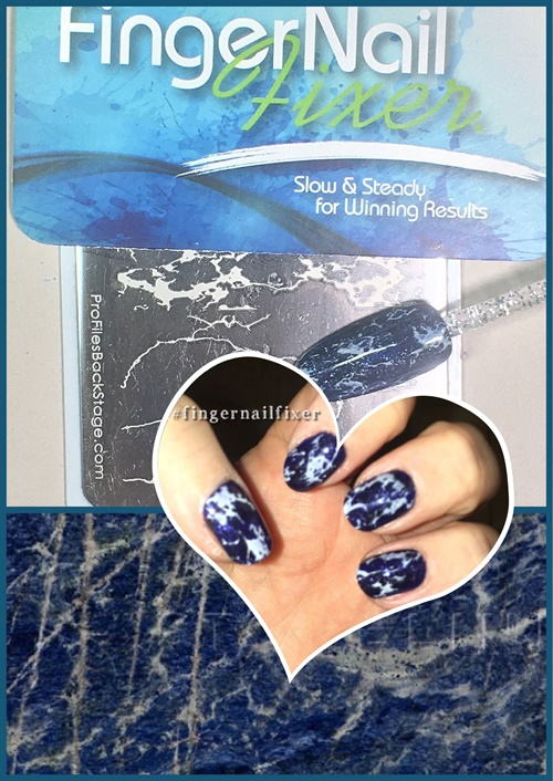 <p>The most recent video covered how to do marble/granite nails.</p>