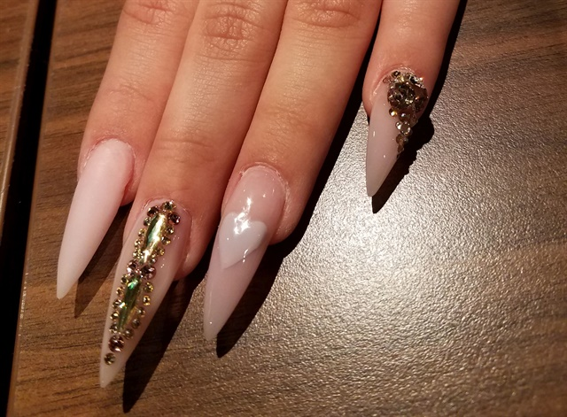 We worked on nail structure in class.
