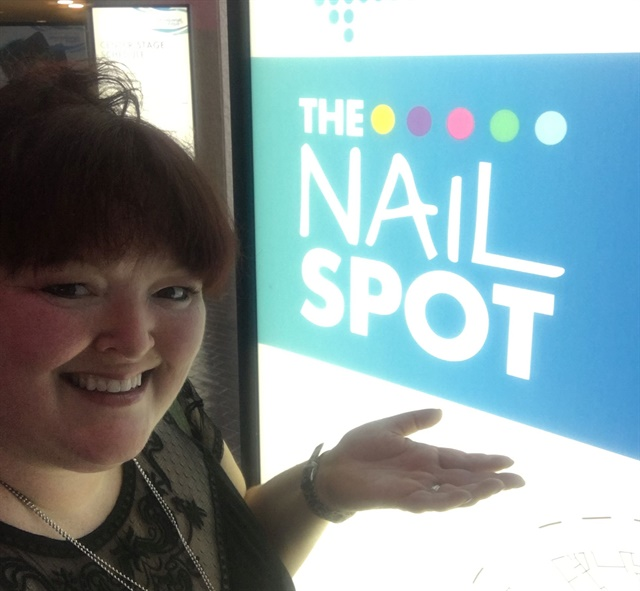 <p>There were signs to direct techs to the Nail Spot. What would help make it easier to find?</p>