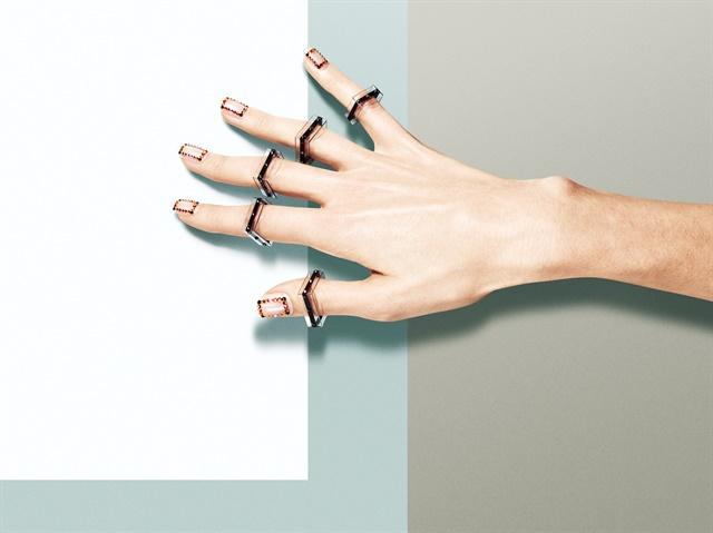<p>Adventure inspired nails by Eichi Matsunaga.</p>