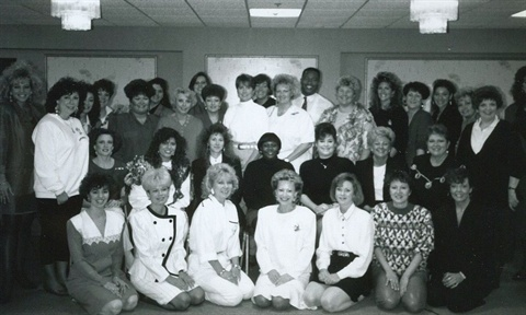 <p>Company educators posed for this photo in 1991.</p>
