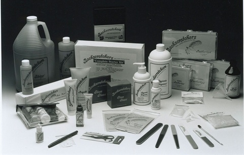 <p>Backscratchers' original product packaging may look familiar to veteran technicians.</p>