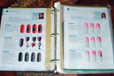 Take a tip frominms sara rayna holden style nails magazine inm elite educator sara rayna holden shares an interesting way of keeping nail art inspiration close by prinsesfo Image collections