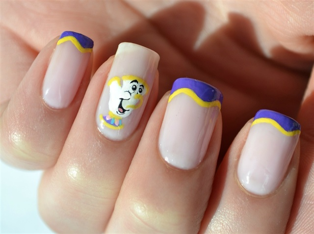 Beautiful Nail Art Inspired By Beauty And The Beast Nails Magazine