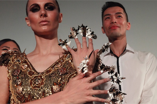 <p>NTNA runner-up Jonny Diep Pham at the Beauty Changes Lives Experience in 2017.</p>