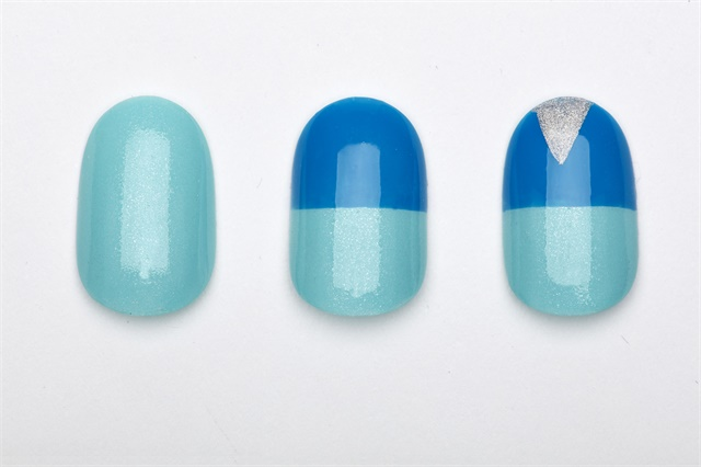 China Glaze My Little Geometry Nail Art Style Nails Magazine