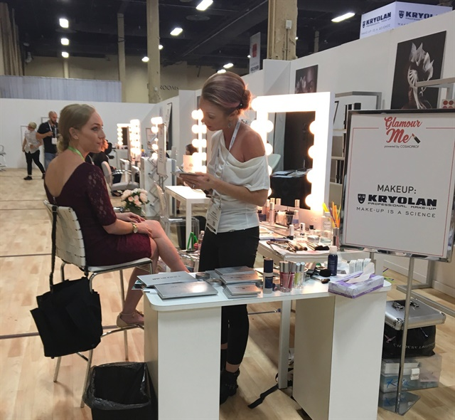 <p>Attendees could also opt for blowouts or braids on their hair, as well as a full face of makeup.</p>