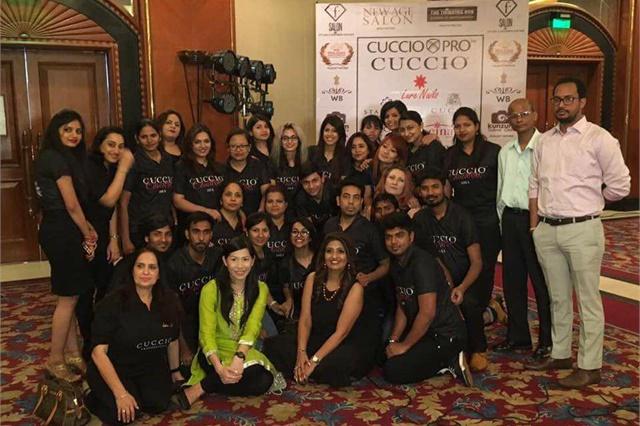 India's Cuccio team.
