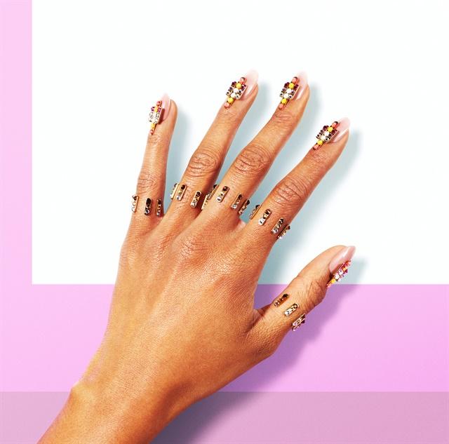<p>Culture inspired nails by Eichi Matsunaga.</p>