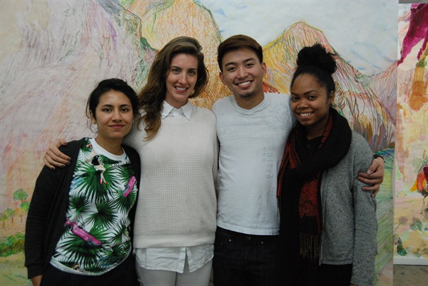 <p>From left: Fariha Ali, Rose Theodora, Tommy Nguyen and Olina Bishop.</p>