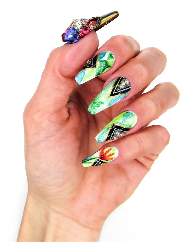NAILS Next Top Nail Artist | Challenges-results | Pre-Challenge #2 ...