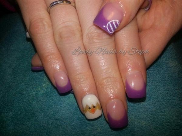 Day 110 Easter Nail Art Nails Magazine