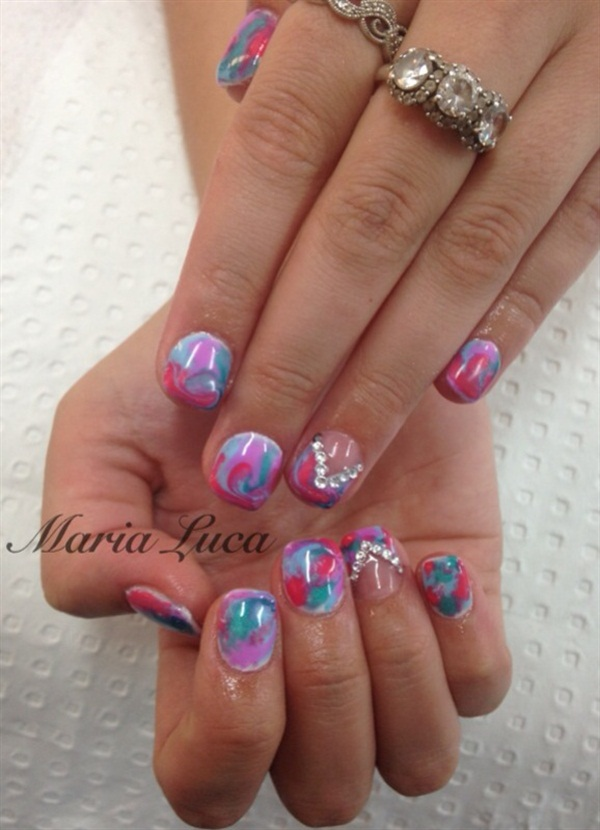 Cute Nail Designs For Spring Break Day 111: Spring...